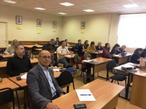 Практические занятия с финансовым калькулятором в группе опережающего обучения