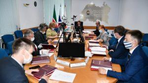 Заседание аттестационной комиссии Минземимущества РТ